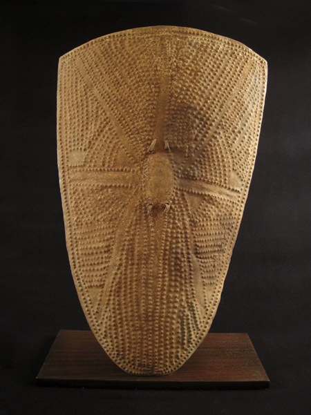African Tribal Art Iron Shield Wandala Northern Cameroon