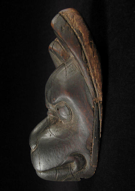 Asian Tribal Art - Fox puppet head, Japan, right