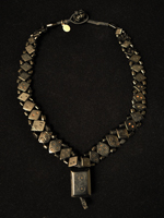 Afghanistan jet necklace
