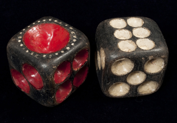 Curiosities - Large dice, Java