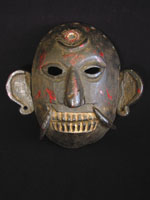 Asian Tribal Art - Lakhe mask, Kathmandu Valley, Nepal