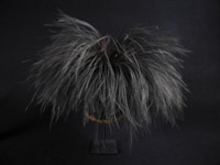 Oceanic Art - Cassowary feather headdress, Western Highlands, Papua New Guinea