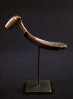 Indonesian Tribal Art - Wood spoon, Toraja, Sulawesi