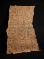 African Tribal Art - Barkcloth, Mbuti people, D. R. Congo
