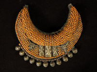 Asian Tribal Art - Beaded pectoral, Nagaland, India