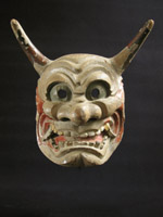 Asian Tribal Art - Hanya mask, Japan