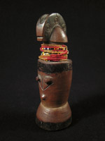 African Tribal Art - Wood doll, Zaramo, Tanzania