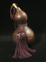 Asian Tribal Art - Sake gourd, Japan